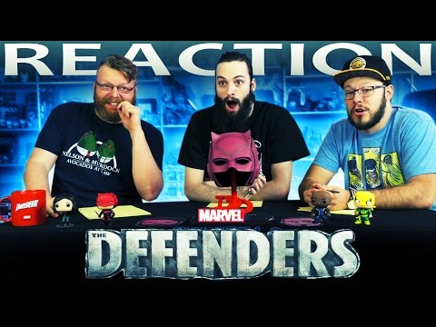 Marvel's The Defenders Official Trailer REACTION!!