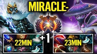 "Miracle play First 10 games New Session Start at ""Legend Rank"" Ez 20 mins Game Dota 2"