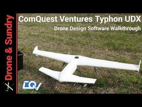 ComQuest Ventures Typhon UDX VTOL design software walkthrough
