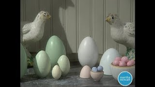 DIY Easter Nesting Eggs- Martha Stewart