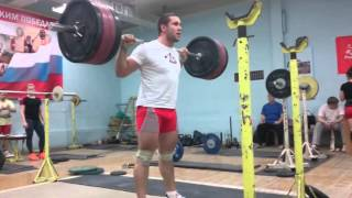 Тренировка4. Ефим Афанасьев КМС (до 94 кг)