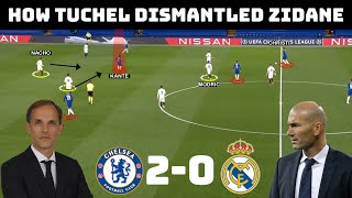 Tactical Analysis : Chelsea 2 - 0 Real Madrid | Tuchel's Complete Domination of Zidane |