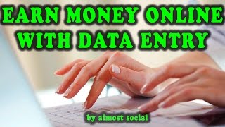 Best websites to earn money with data entry. in this video, i will also show you the ways from entry jobs online, what are requir...