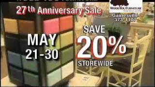 Wood You Furniture - 27th Anniversary Sale - Gainesville & Ocala