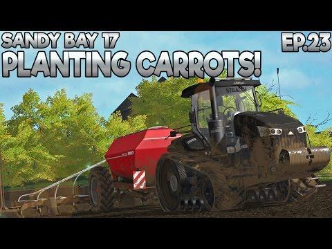 Sandy Bay 17 - Farming Simulator 17 -  Ep.23  (with Wheel Cam & Seasons Mod)