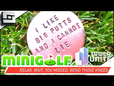 DOUBLE HOLE IN ONE! - Tower Unite Mini Golf Gameplay| Funny Moments | Sl1pg8r
