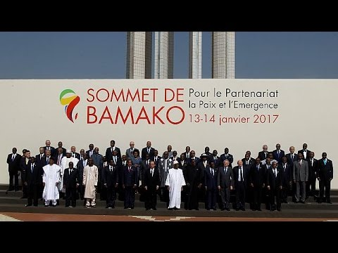 Africa-France summit kicks off in Mali
