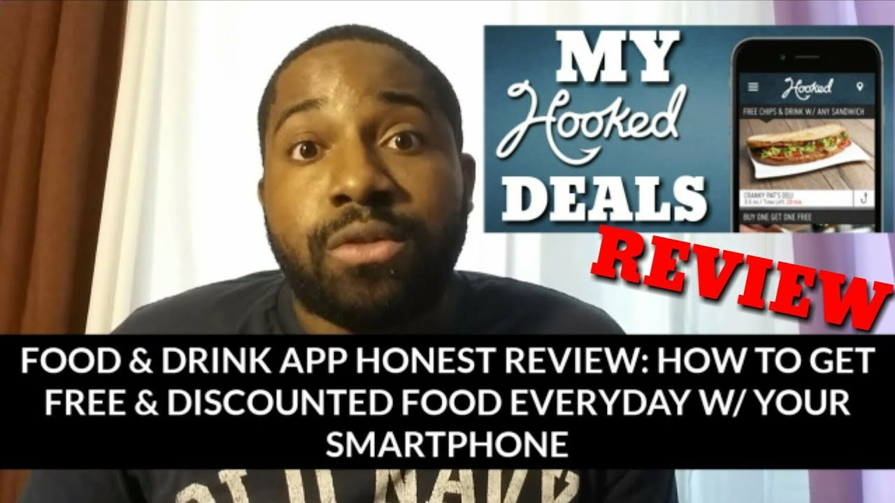 Hooked Deals Food and Drink App HONEST Review - How to Get FREE and