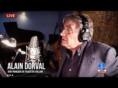 Alain Dorval (voix De Sylvester Stallone) En Backstage Studio (18 Mai 2016)