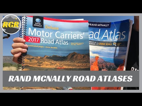 Rand McNally Road Atlas | Product Review | Large Scale vs Motor Carrier version