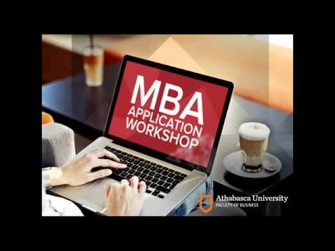 AU Faculty of Business - MBA application workshop