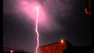 Rayos y Truenos en Antofagasta 07/06/13