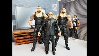 WWE NXT Custom Elite Authors of Pain Figure Review! Akam & Rezar
