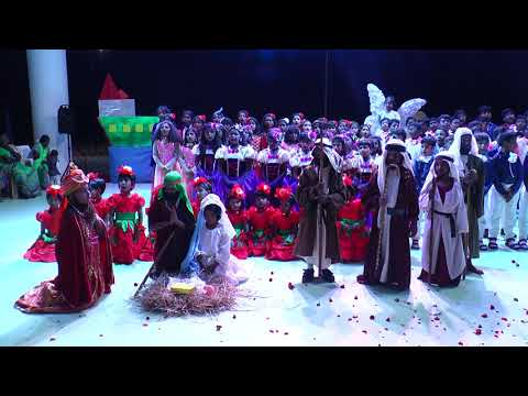 Tableau on Birth of Jesus by the kids of Rosemary School of Excellence