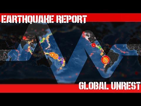 Earthquake Report   Sept 18, 2016   1,781 Earthquakes   Powerful Quakes Strike the Globe!