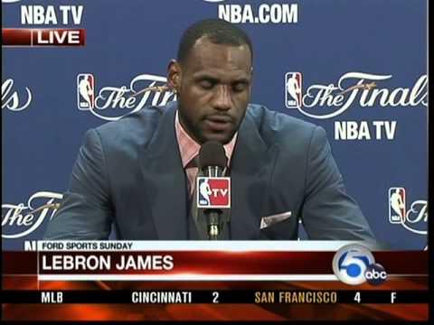 Lebron James interview after 2011 NBA Finals loss