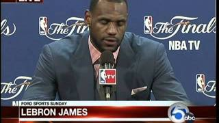 Lebron James interview after 2011 NBA Finals loss