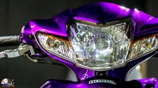 ทีเด็ด เวฟ110i สีม่วงง่วงได้ไง สวยจื้ดจ๊าด จากร้านโมโตพาส #บิ๊กกล้องซิ่ง