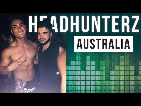 HEADHUNTERS - TOUR AUSTRALIA 2019 | RAVE VLOG