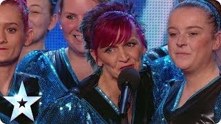 Oldham Sapphires march to the beat | Britain's Got Talent 2014