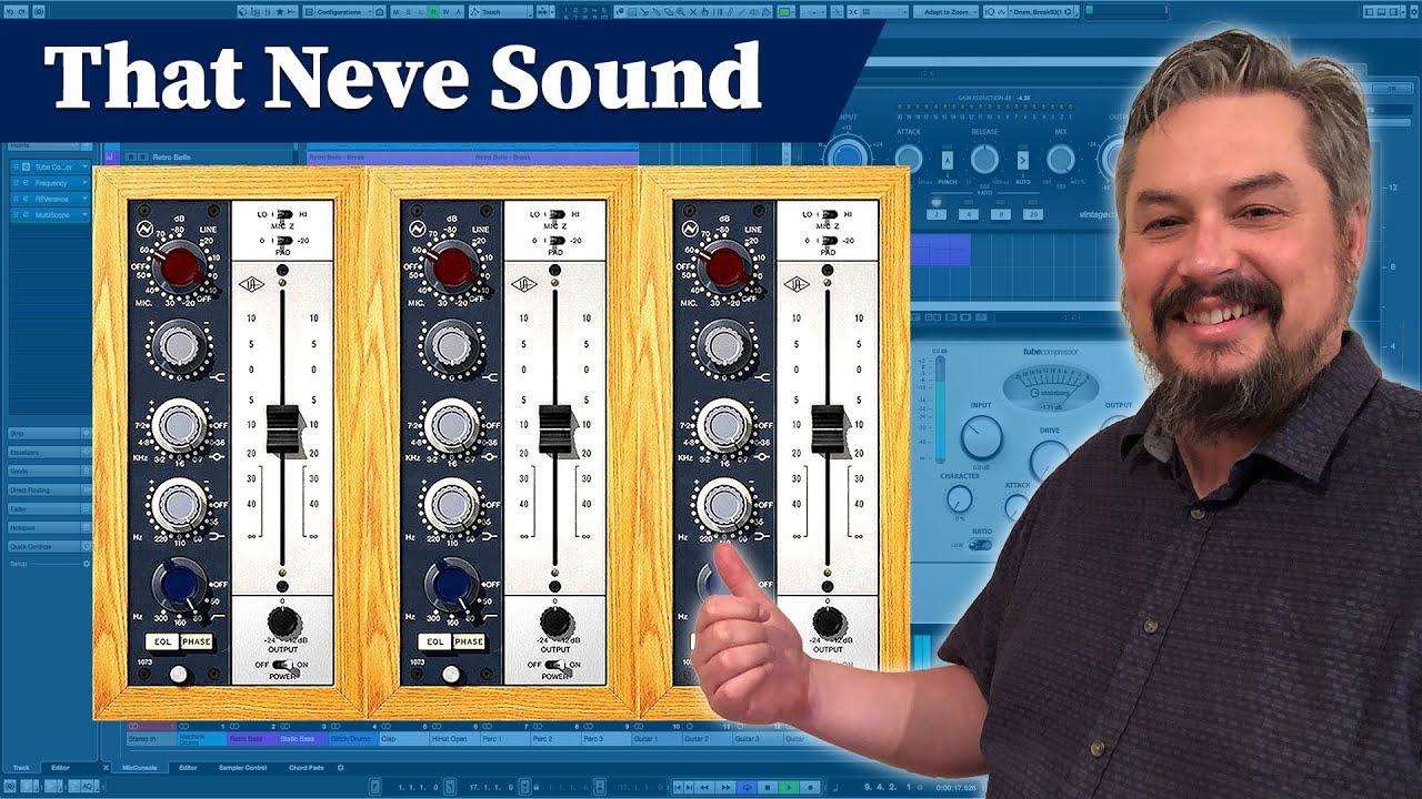 UAD Neve 1073 - Mixing Plugin Tutorial