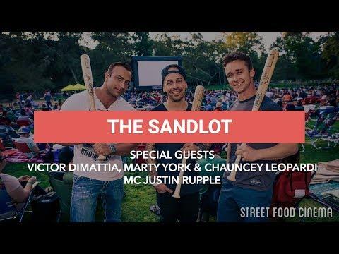 Street Food Cinema The Sandlot 6.18.16