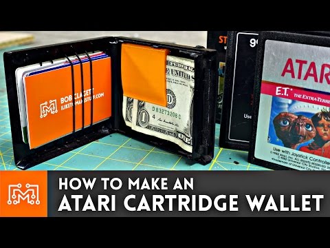Atari Game Wallet // How-To