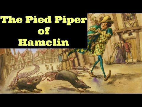 The Pied Piper of Hamelin (German Legend)