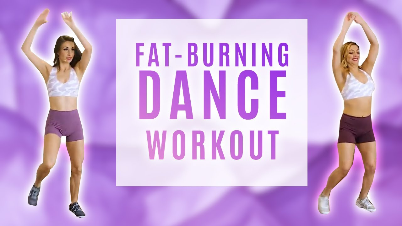 12 Min Dance Workout | Intermediate Fat Burning Cardio Fitness Challenge, At Home, DanceFit Monica