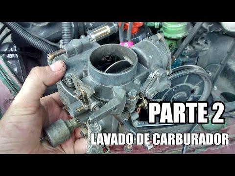 Lavado de carburador de vocho Parte 2: armado y carburación