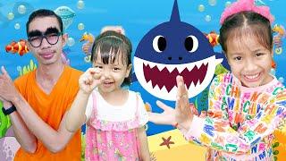Baby Shark Family Dance Nora Family Show