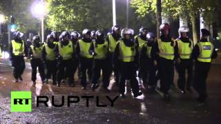UK: Clashes and arrests at Anonymous
