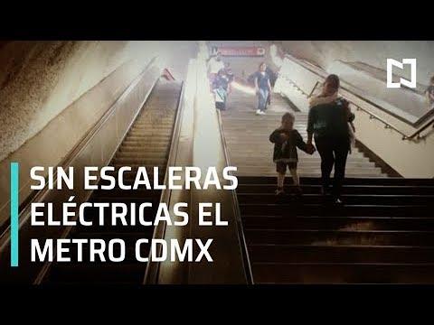 Sigue suspendido servicio de escaleras eléctricas en Metro CDMX - Despierta con Loret