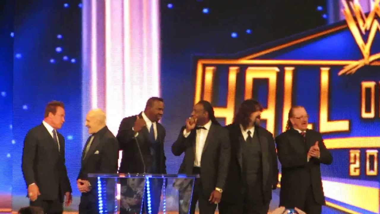 The Inductees at WWE Hall of Fame 2013 @ Madison Square ...