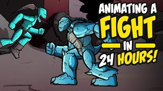 I Animated a Fight Scene in 24 Hours for ZHC