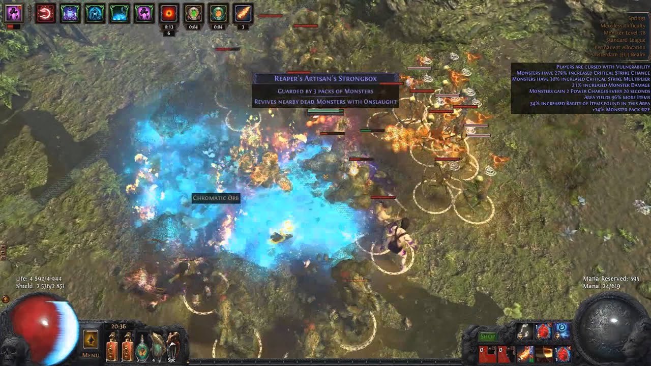 """Path Of Exile """"Ultra-Tanky HYBRID Incinerator"""""""