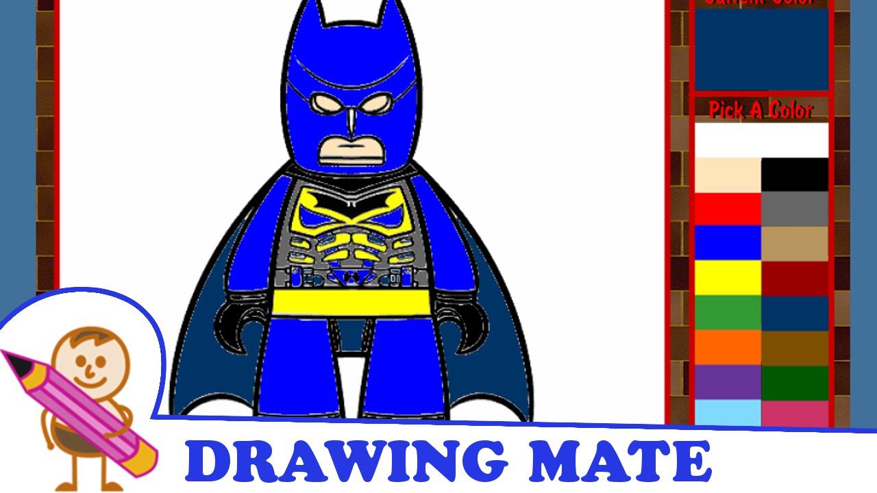 Batman Coloring Pages Colouring Book Game Kolorowanki Malowanki Gry Dla Dzieci