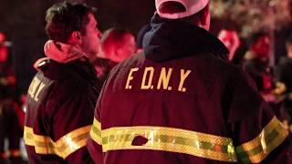 [ Manhattan 10-75 Box 446 ] FDNY Battles All-Hands Fire on the Roof