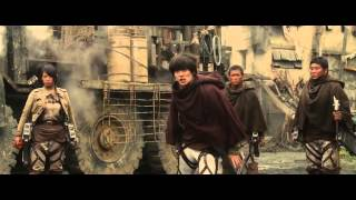 Attack on Titan Part 2 - END OF THE WORLD - Trailer HD 2015