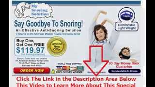 curing snoring surgery | Say Goodbye To Snoring