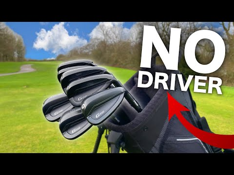 Break par using ONLY irons? | Ping G710 review