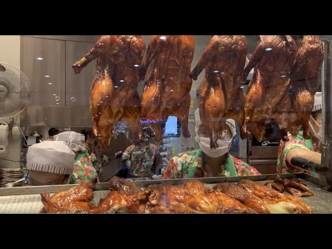 The best roasted duck in Thailand MK Restaurant | เป็ดย่าง MK