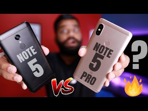 Redmi Note 5 Vs Redmi Note 5 Pro - Which one to Buy? My Opinions
