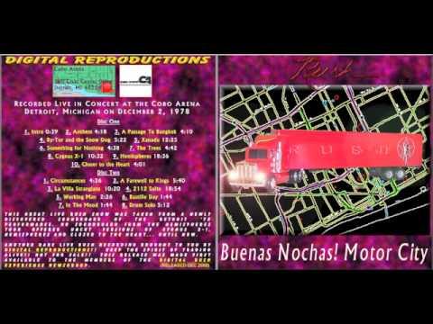 RUSH - Buenas Nochas! Motor City - Hemispheres Tour (Soundboard)