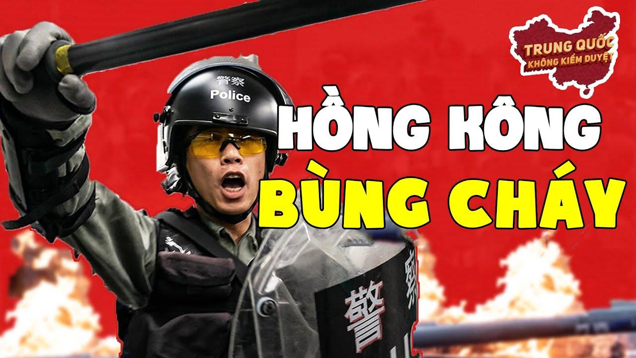 Hồng Kông Bùng Cháy   Trung Quốc Không Kiểm Duyệt