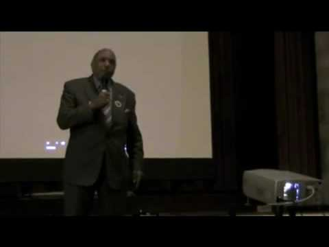 Bernard Lafayette speech at Riverside Church for the World March for Peace and Nonviolence