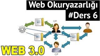 Web Okuryazarlığı Dersleri - Web 1.0, 2.0 ve 3.0 ve Farkları #Ders 6