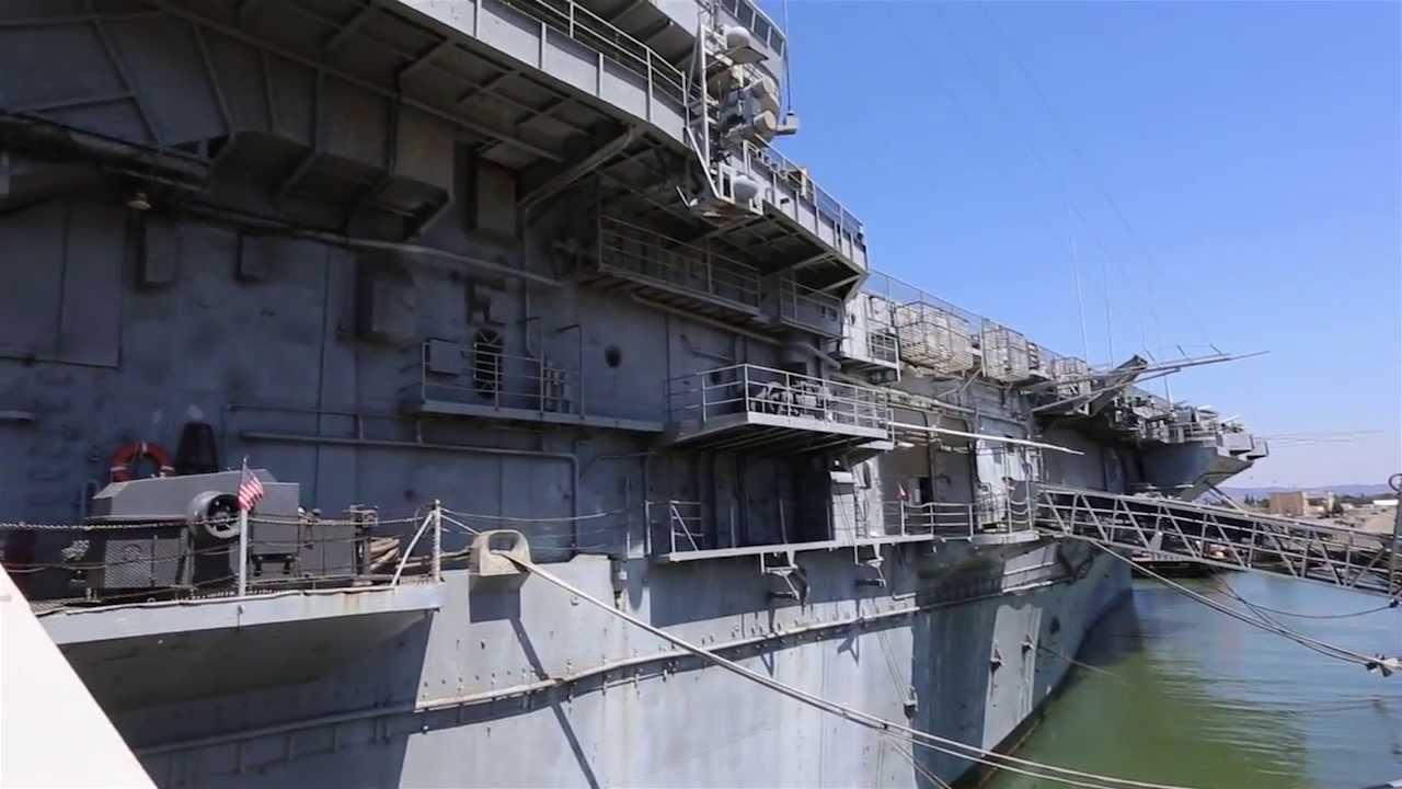 Aircraft Carrier USS Hornet Museum - Alameda, CA - YouTube