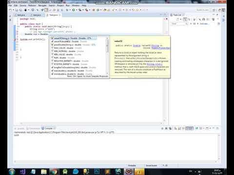 تحويل من نوع من datatype الى اخر فى دوره برمجه جافا