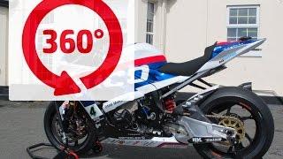360 DEGREES TT On Bike with Ian Hutchinson - Press Launch